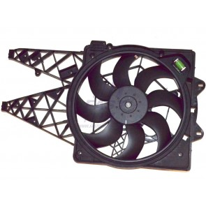 RADIATOR FAN FIAT DOBLO 09> WITH HOUSING 1.6/2.0JTD [+] AC